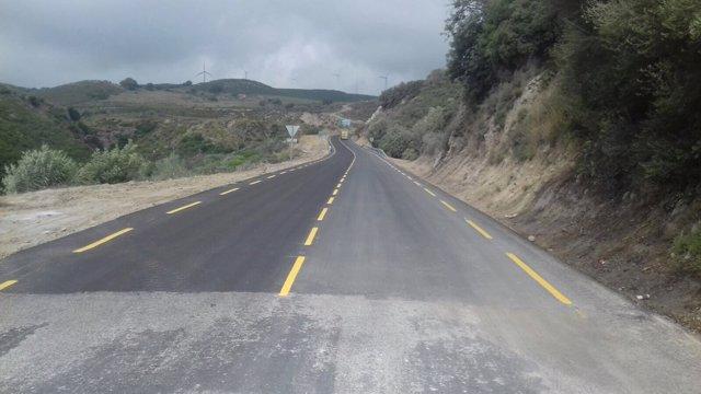 Carretera gaucín manilva tramo abre tráfico