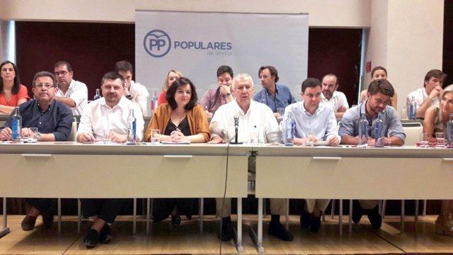 Reunión del PP de Sevilla