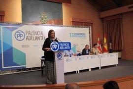 Armisén, elegida presidenta del Partido Popular de Palencia
