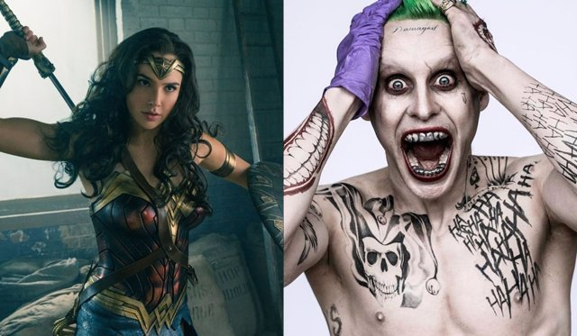 Wonder Woman y el Joker