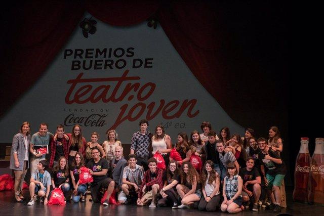 Ganadores en Navarra de la 14º Buero de Teatro Joven