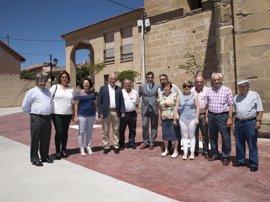 """Ceniceros: """"Tormantos es un nuevo ejemplo del esfuerzo del Gobierno de La Rioja para mejorar la vida en los pueblos"""""""