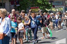 400 personas reclaman en Santander el acogimiento de refugiados