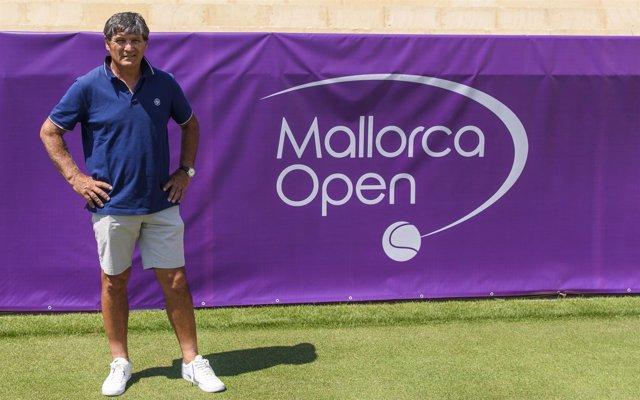 Toni Nadal en el Mallorca Open