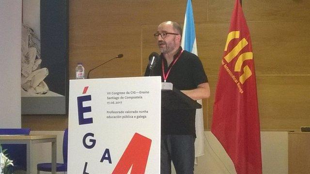 Xesús Bermello, nuevo secretario nacional de CIG-Ensino