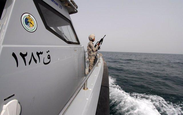 Guardacostas saudíes