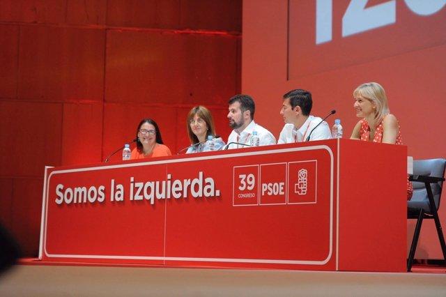 Rafael García (segundo por la derecha) alcalde de Burjassot