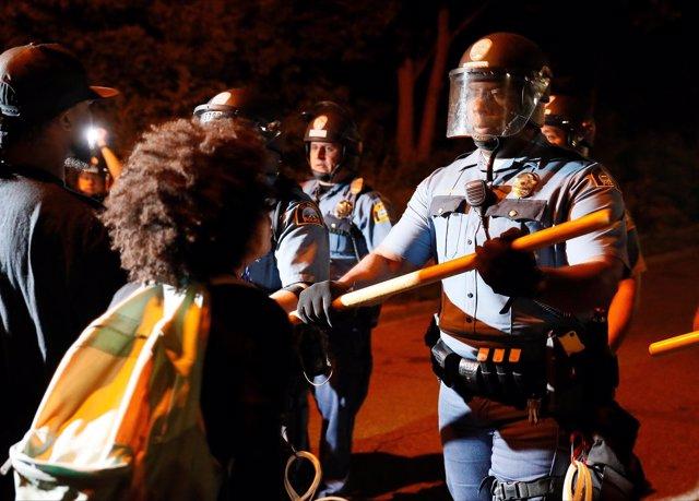 Disturbios en St. Paul, Minnesota