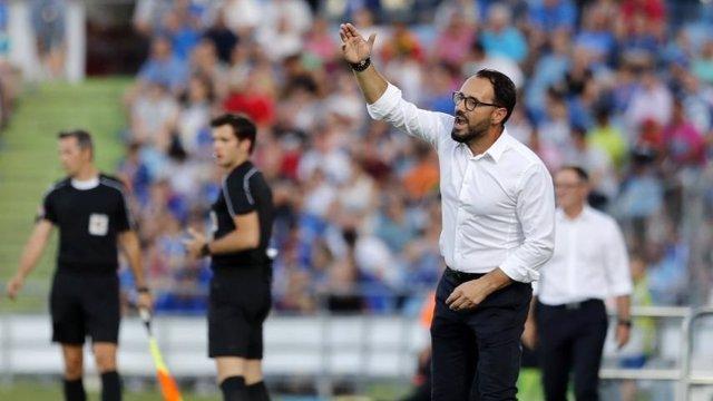 José Bordalás, técnico del Getafe
