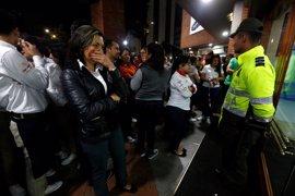 El ELN condena el atentado contra un centro comercial en Bogotá