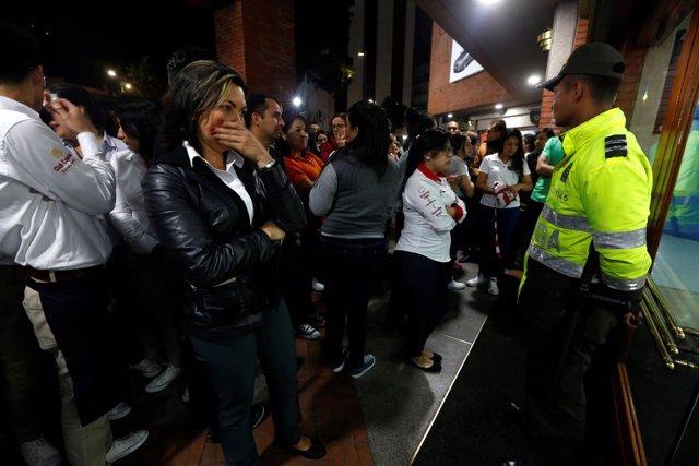 Al menos tres personas han muerto en un atentado en Bogotá.