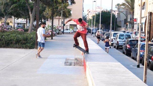 Skate Park de las Almadrabillas, en Almería