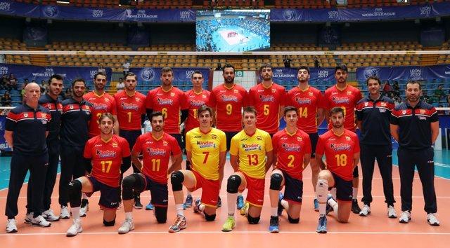 Selección española de voleibol masculino Liga Mundial