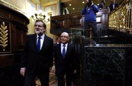 PSOE, Ciudadanos y Podemos examinan a Rajoy y Montoro por su 'amnistía fiscal' inconstitucional en el Congreso