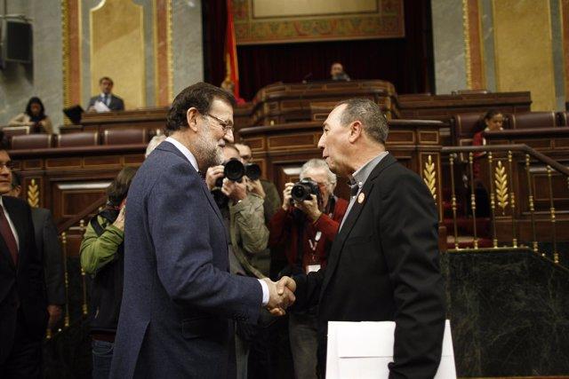 Mariano Rajoy y Joan Baldoví
