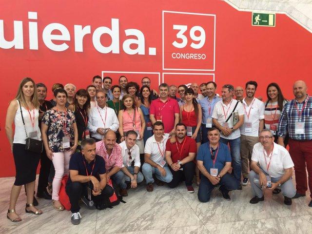Delegación del PSN en el congreso del PSOE