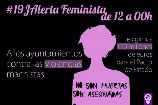 Convocatoria de plataformas feministas contra la violencia de género