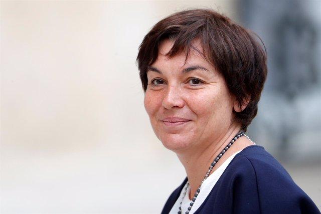 La ministra francesa de Ultramar, Annick Girardin