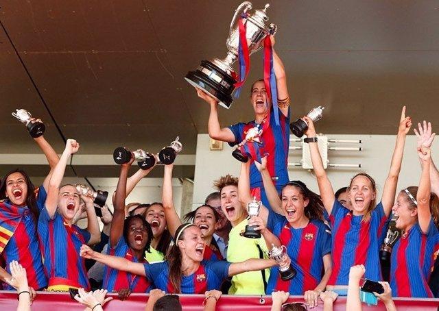 Barcelona femenino campeón Copa Reina