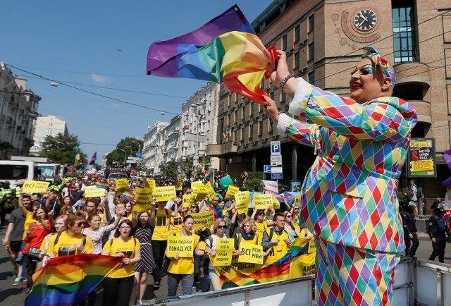 Orgullo gay en Kiev