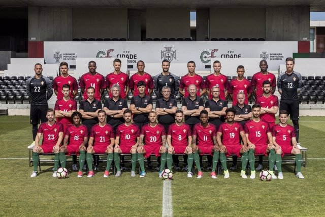 Equipo plantilla Portugal Confederaciones