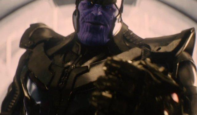 Thanos en Vengadores: La era de Ultrón