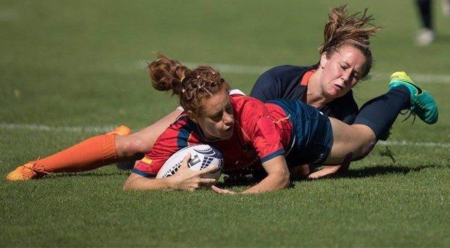 La selección femenina de Rugby 7 termina quinta en la primera serie del campeona
