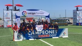 El FC Barcelona gana LaLiga Promises en la final ante el Villarreal