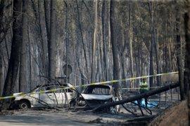 Más de 1.600 bomberos trabajan en los cinco incendios más importantes de Portugal