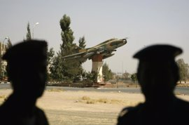 La coalición internacional derriba un caza del Ejército sirio en Raqqa