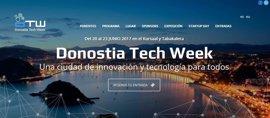 San Sebastián acoge desde este martes la primera edición de la Donostia Tech Week