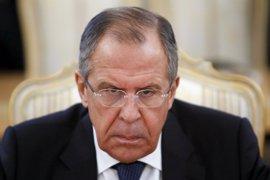 Lavrov pide a EEUU que evite acciones unilaterales en Siria tras el derribo de un caza del régimen