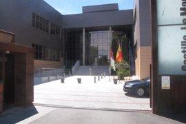 Trabajadores de Amaranto Eurogroup, que trabaja para la Consejería de Fomento, en huelga