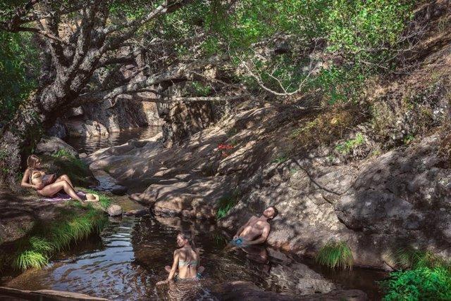 Piscina natural en la provincia de Salamanca
