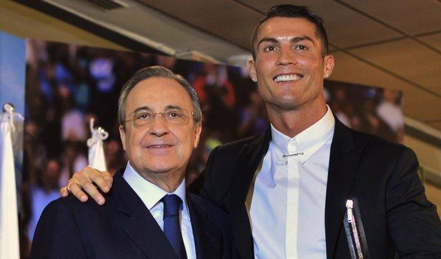 Cristinao Ronaldo y Florentino Perez