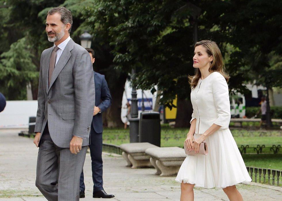 Los Reyes visitan el Museo del Prado
