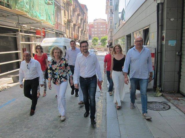 Eva Díaz Tezanos presenta su candidatura a primarias del PSOE