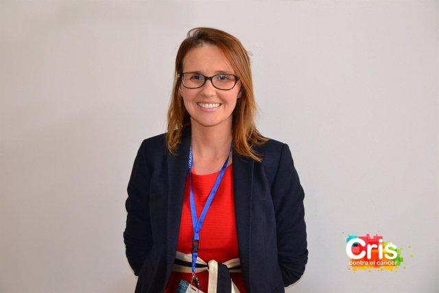 Marina Marbán Orejas, una de las investigadoras que difrutarán la beca CRIS