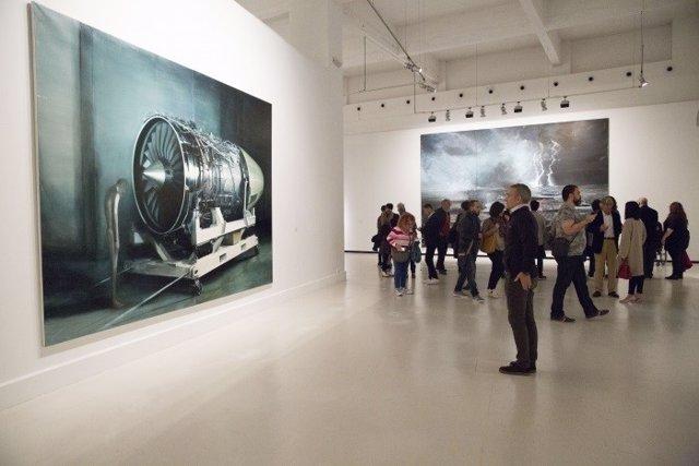 Exposición de Jia Aili en el CAC Málaga