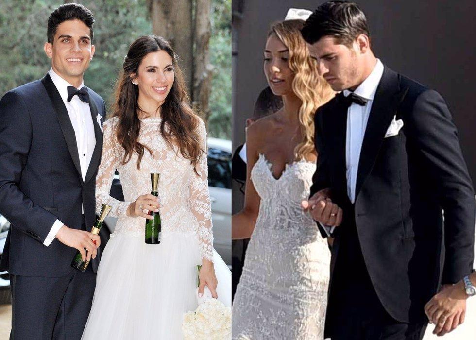 Cuatro bodas, cuatro novias diferentes