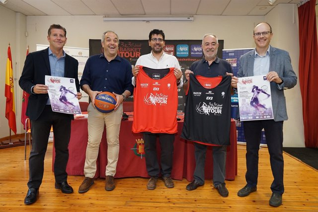Presentación del 3x3 Street Basket Tour