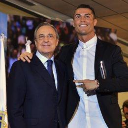 Cristinao Ronaldo i Florentino Pérez