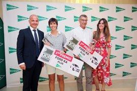 Mar Viola y Ramón Vila, ganadores del XXIII Torneo El Corte Inglés de golf