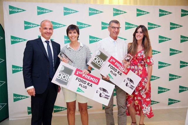 Ganadores del trofeo de golf de El Corte Inglés