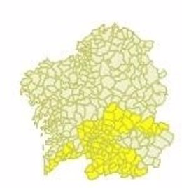 Aviso por temperaturas altas en Ourense y Lugo.