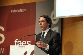 Aznar reúne a sus exministros de Exteriores en el curso de verano de FAES y no irán ni Rajoy ni la cúpula del PP