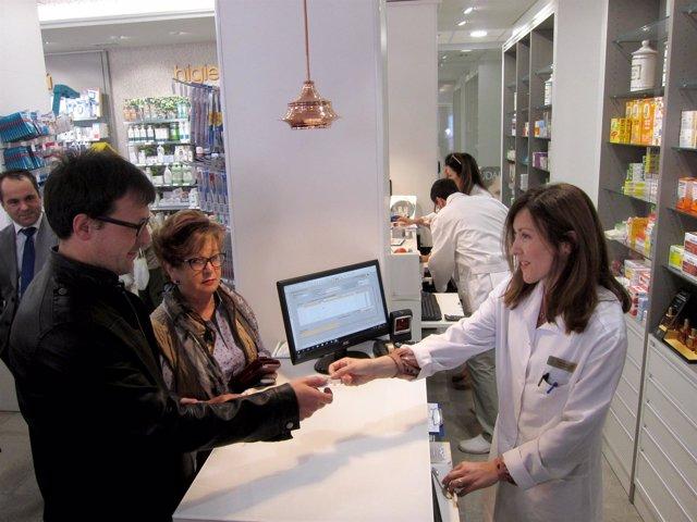 Usando la interoperabilidad de la receta electrónica en una farmacia