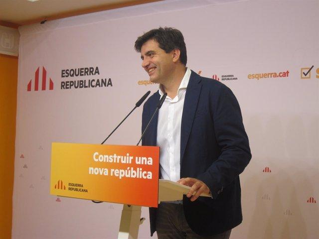 Sergi Sabrià, ERC