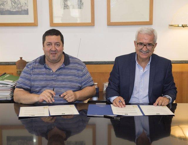 Firma de convenio entre la Junta de Andalucía y la FAER