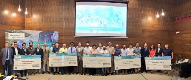 Siemens premia a los estudiantes más innovadores